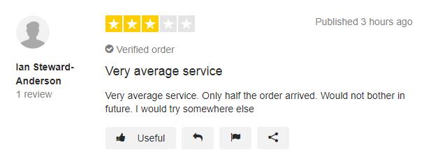 Chemist-4-U Customer Reviews